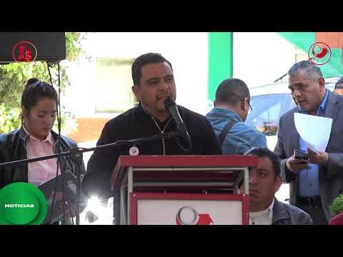 Inauguramos techumbre en secundaria del barrio Xochiaca