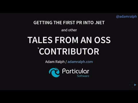 Getting the first PR into .NET and other tales from an OSS contributor