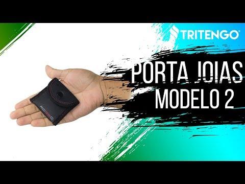Porta Jóia Modelo 2 em Neoprene Personalizado para Brindes Corporativos