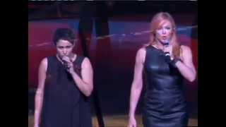 China Forbes & Storm Large sing the National Anthem T9