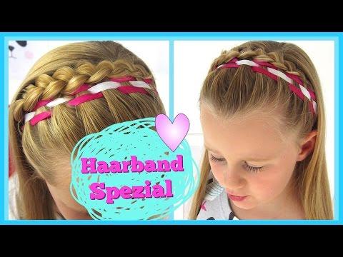 Haarband Spezial✿(Teil 2)geflochtenes Haarband ✿Flechtfrisur für Mädchen