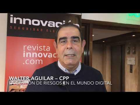 Walter Aguilar en el Encuentro Tecnológico ALAS Buenos Aires 2019