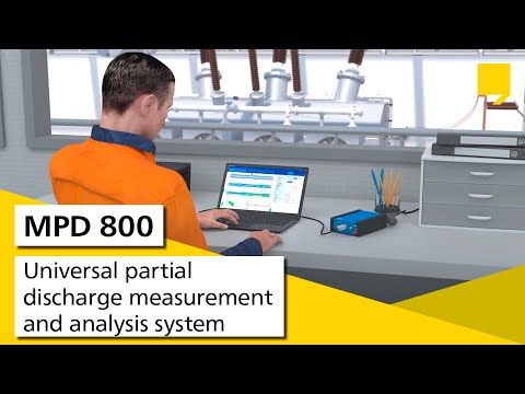 MPD 800 – Universal partial discharge measurement and analysis system