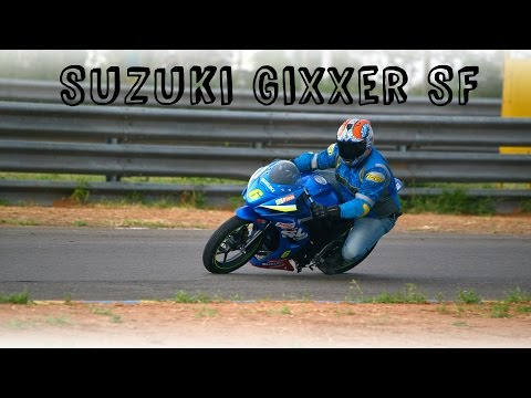 Suzuki Gixxer SF Ridden | Gixxer SF Cup Bike Track Test | Road Test | Review | ZEEGNITION