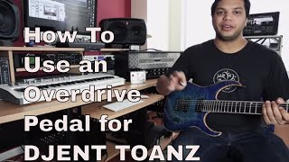 Misha Mansoor Shows You How To Use An Overdrive Pedal For Djent Metal Tone
