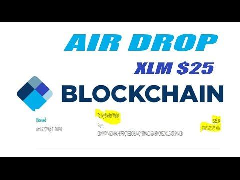 Ganhe $25 Dolares Em XLM Gratis  |  Blockchain Air Drop