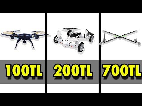 100 TL'lik VS. 200 TL'lik VS. 700 TL'lik DRONE