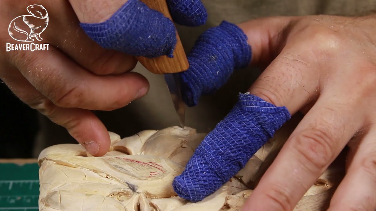 tips for wood sculpture for beginners by beaver craft