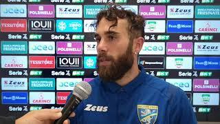 intervista a Zampano centrocampista del Frosinone calcio