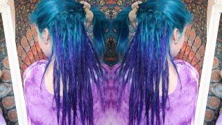 From Bleached Rainbow To Enchanted Mermaid -  HAIR DIY