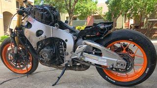 Rebuilding A Crashed Honda CBR 1000RR Repsol Edition - Custom Project Pt 5