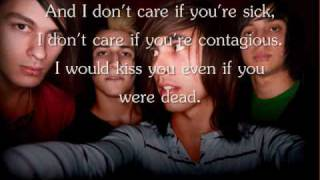 I Don't Care If You're Contagious by Pierce The Veil Lyrics.