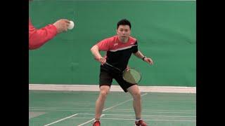 Badminton Hitting Skills-How To Do Smash Defence-All The Wrong Defence 1