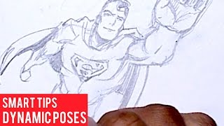 Tips On Foreshortening And Dynamic Poses