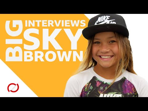 Sky Brown: 11-year-old skateboarder aiming for Olympic history - BBC My World