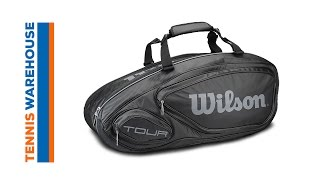 Wilson Tour V 9-Pack Bag video