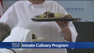 CBS 13 features CALPIA Culinary Classes Give Folsom Inmates Valuable Skills