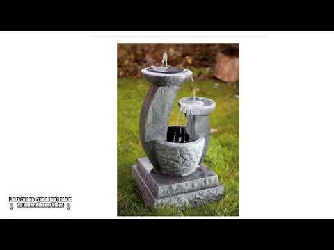 Klein & Fein: Diesen Gartenbrunnen solltest du dir ansehen - Kaskadenbrunnen kaufen - Brunnen Garten