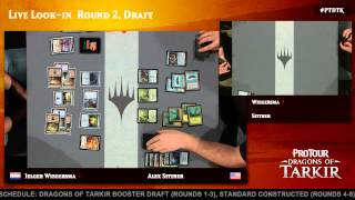 Pro Tour Dragons of Tarkir Round 2 (Draft): Josh Utter-Leyton vs. Gaudenis Vidugiris