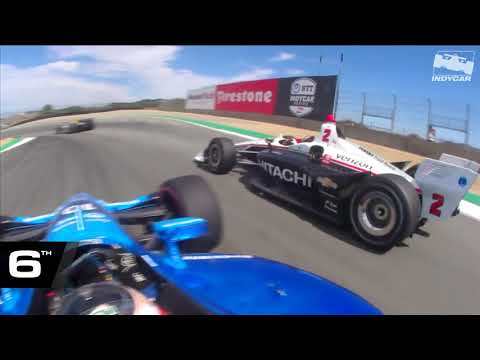 Felix Rosenqvist's angry drive from 14th to 5th at Laguna Seca