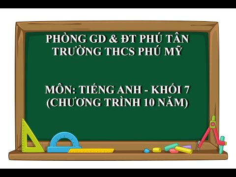 Tiếng Anh 7 (10 năm) - Unit 9: Festivals Around the World - Lesson 1 Getting started