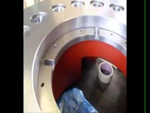 Servo rotary table TMF series
