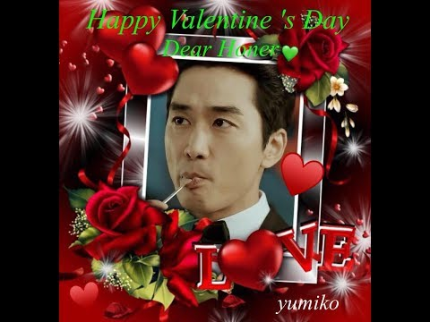 Song Seung Heon~ Happy Valentine's Day 2018