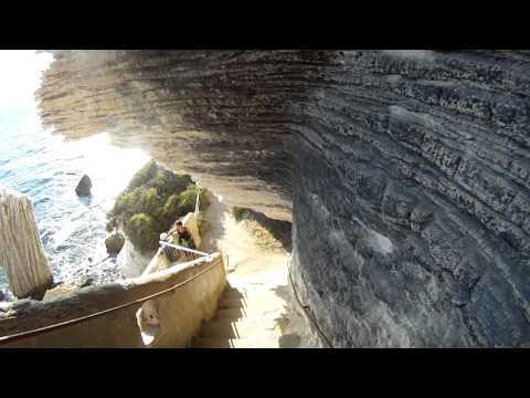 Corsica-Bonifacio-Escalier Du Roy d'Aragon-(descending)