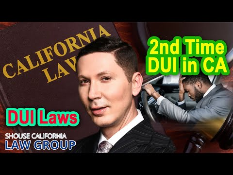 2nd Time DUI in California