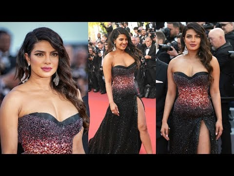 Priyanka Chopra Looks Stunning In Shimmery Gown At Cannes 2019 Red Carpet