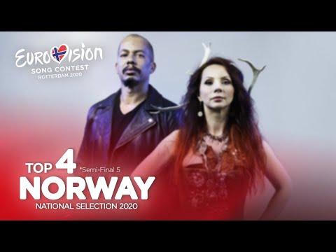 🇳🇴: Eurovision 2020 - Melodi Grand Prix 2020 - Semi-Final 5 - Top 4