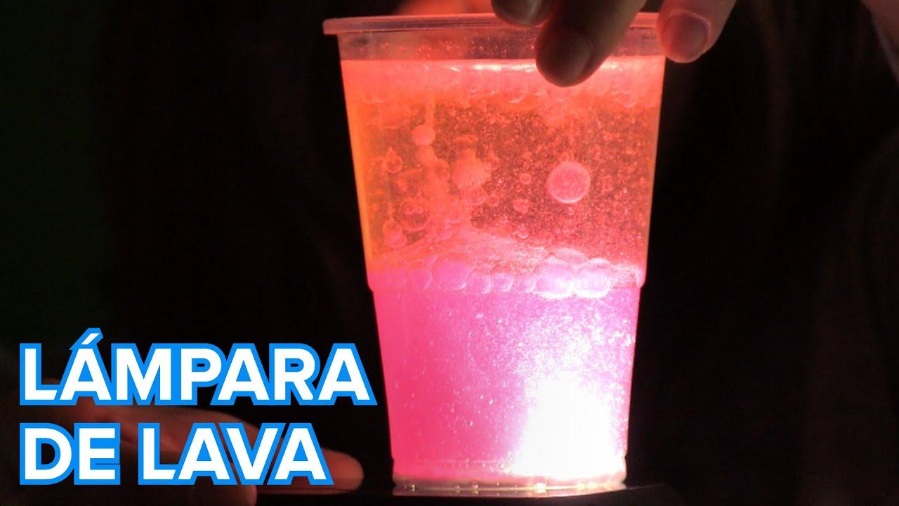 Cómo hacer una lámpara de lava. Ciencia divertida para niños