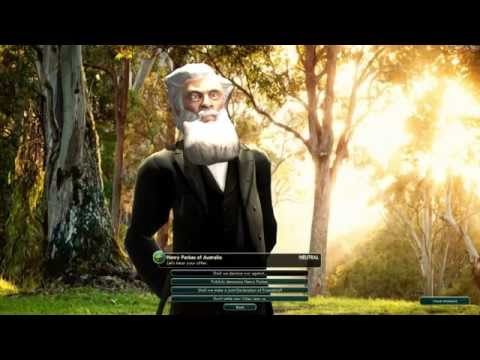 Civilisation V's Aussie Mod Now Has A Fully-Realised Henry Parkes, And It's Awesome