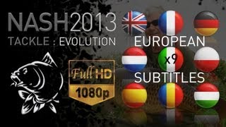 CARP FISHING NASH 2013 FULL PROMO DVD 1080P & SUBTITLES NASH TACKLE KEVIN NASH CARP ANGLER