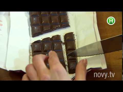 """Фокус с шоколадной плиткой - программа """"Нового канала"""" Аферисты в сетях 2015"""