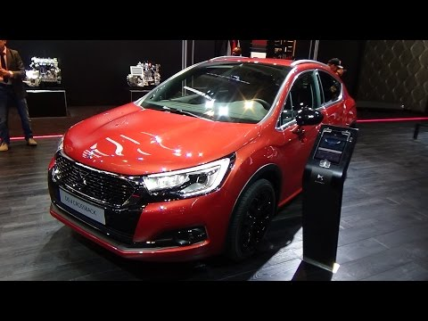 Citroen  Ds4 Crossback Хетчбек класса C - рекламное видео 3