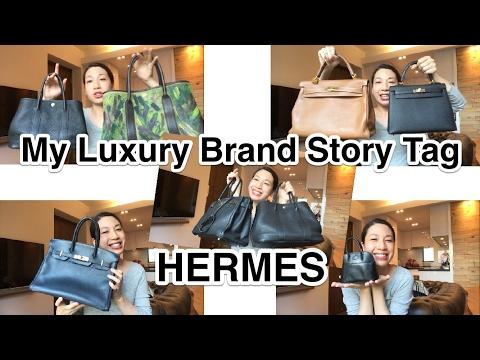 bf2f490b89fd JAPAN PRELOVED HERMES STORES 2017. MY LUXURY BRAND STORY TAG