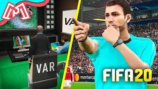 O VAR TEVE QUE ENTRAR EM AÇÃO!! - Modo Carreira FIFA 20 Ep. 10