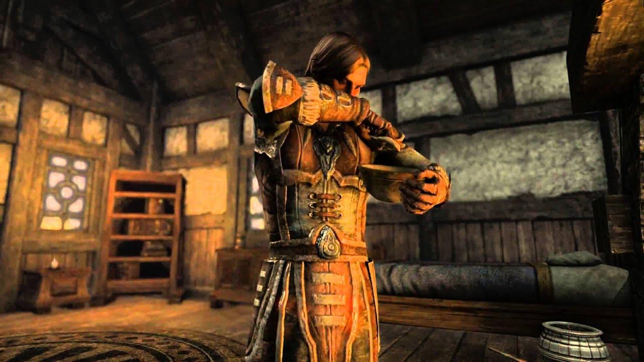 Elder Scrolls Online: видео - Gathering and Exploration (RUS)