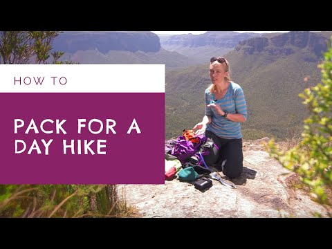 How to Pack for a Day Hike