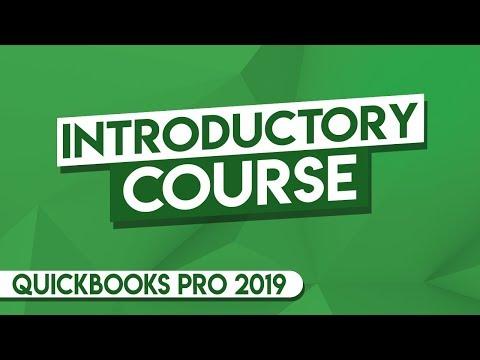 QuickBooks Tutorial: QuickBooks 2019 Course for Beginners ...