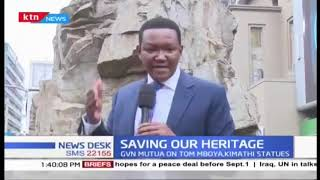 Machakos Governor Alfred Mutua offers to fund the repair of Tom Mboya Statue in Nairobi