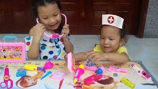 Trò Chơi Bác Sĩ ❤ KN Cheno Bé Na ❤ Đồ Chơi Trẻ Em toys for kids