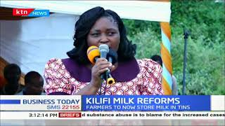 Kilifi County government asks farmers to avoid keeping milk in plastic bottles