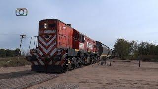 preview picture of video 'Tren de FEPSA entrando a Quemú Quemú'