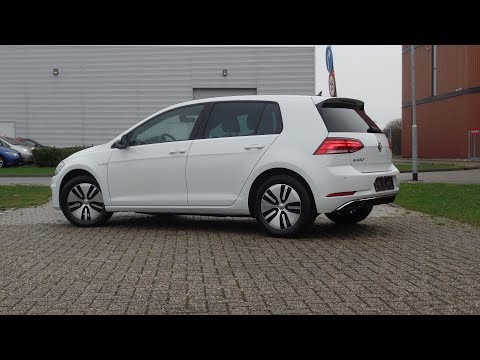 Volkswagen NEW e-Golf 2018 Pure White , Vienna shetland int & exterieur Walkaround