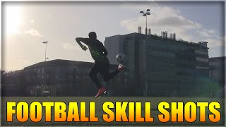 FOOTBALL: SKILL SHOTS AND CROSSBAR TRICKS!
