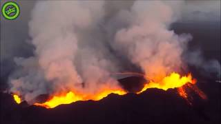Amazing! Drone view of Holuhraun Volcano - EpicDevils