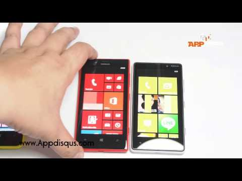 Appdisqus รีวิวแกะกล่อง Nokia Lumia 720 (ไทย)
