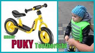 Puky Laufrad Testbericht | First Biker Sicherheitsweste | Familybook
